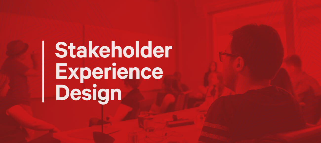 Stakeholder Experience Design - image